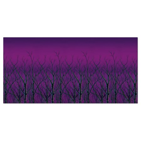 Spooky Forest Treetops Backdrop Halloween Decoration - Halloween Spooky Backgrounds