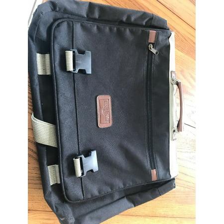 Annapolis Leather - Annapolis Briefcase Portfolio Laptop Case Bag Books School...NICE!!