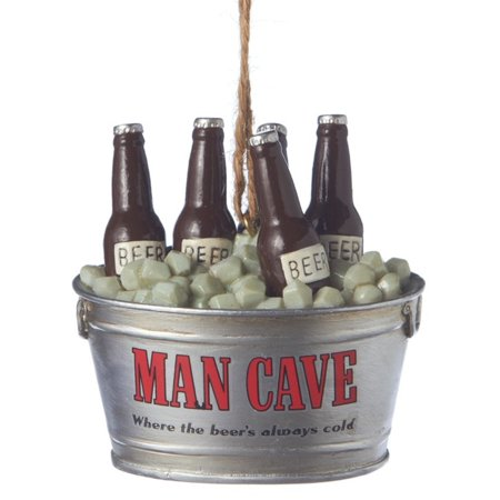 Man Cave Ice Cold Chilled Bucket of Beers Christmas Holiday - Holiday Bucket