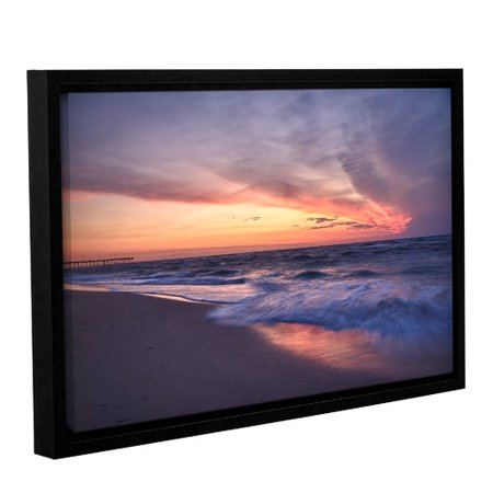 Artwall Outer Banks Sunset I By Dan Wilson Framed Photographic Print On Wrapped Canvas Set