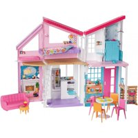 Barbie Malibu House Playset with 25+ Themed Accessories