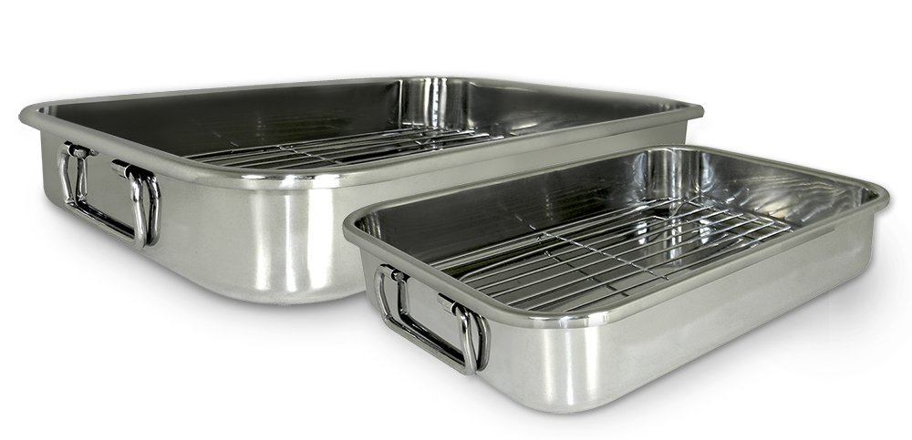 561 4-Piece All-in-1 Lasagna and Roasting Pan, Ship from USA,Brand Cook Pro by