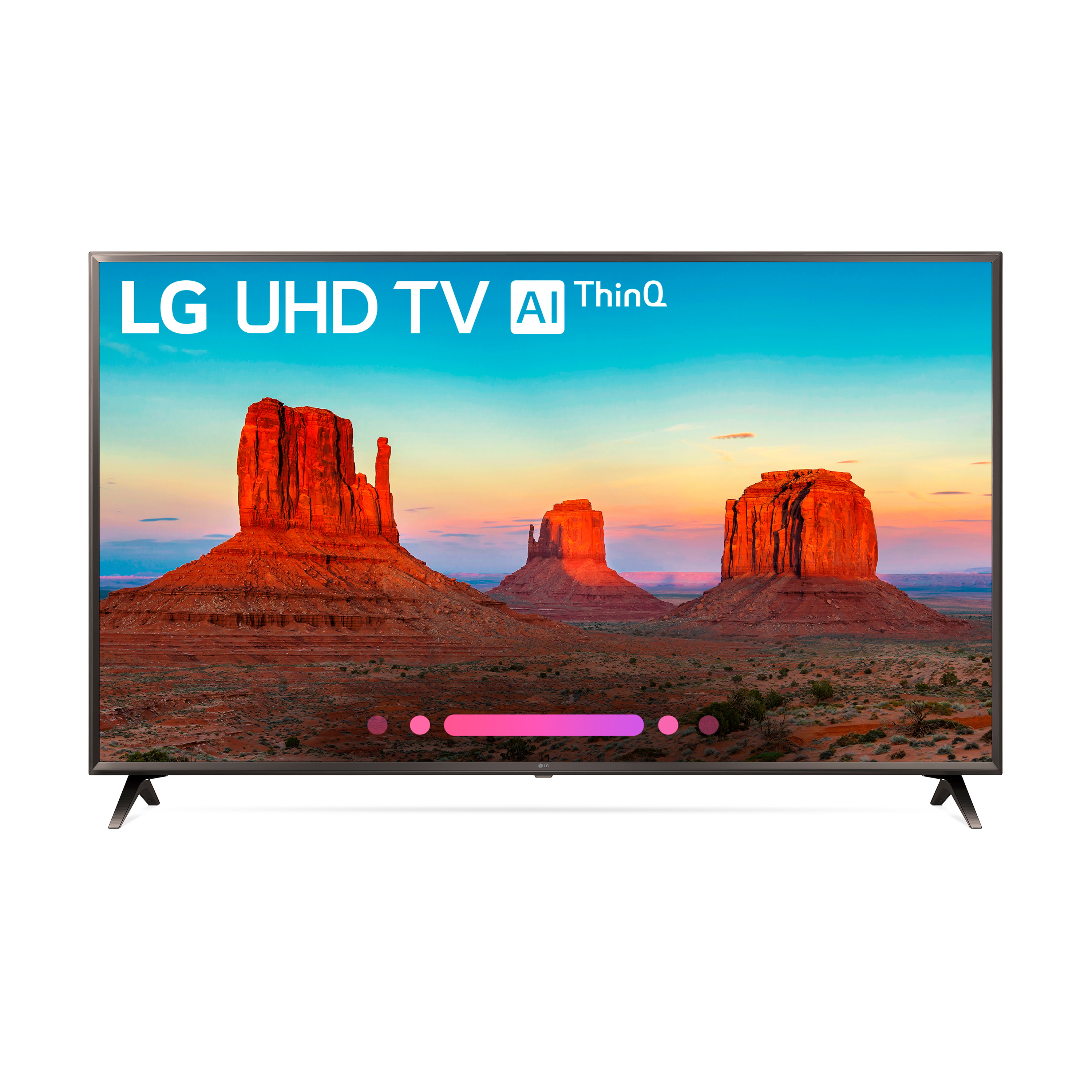 "Click here to buy LG 55"" Class 4K (2160) HDR Smart LED UHD TV w AI ThinQ 55UK6300PUE by LG."