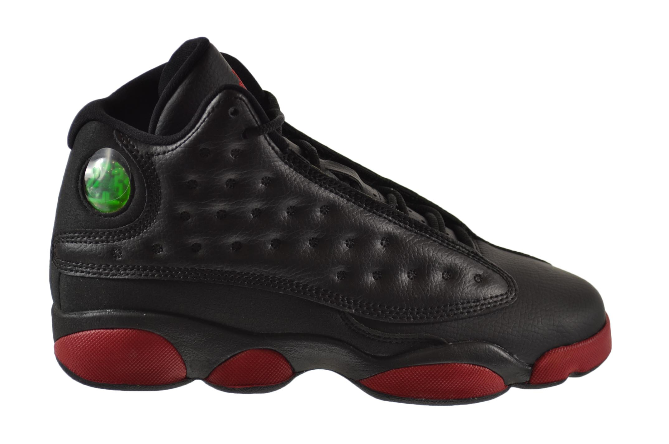 quality design fd538 8e412 ... discount air jordan 13 retro bg big kids shoes black gym red 414574 033  9611a a7603