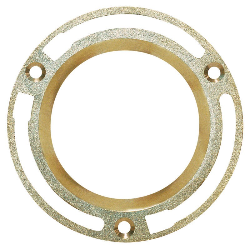 """Sioux Chief Closet Flange Brass 4 """" by Sioux Chief"""