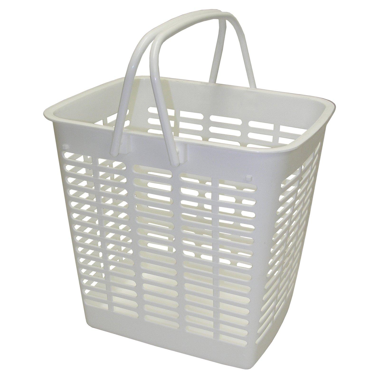 Dial Industries E1210W White Mini Tote Basket