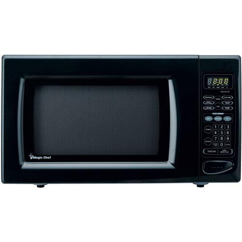 Magic Chef 1 6 Cu Ft Microwave Oven Black