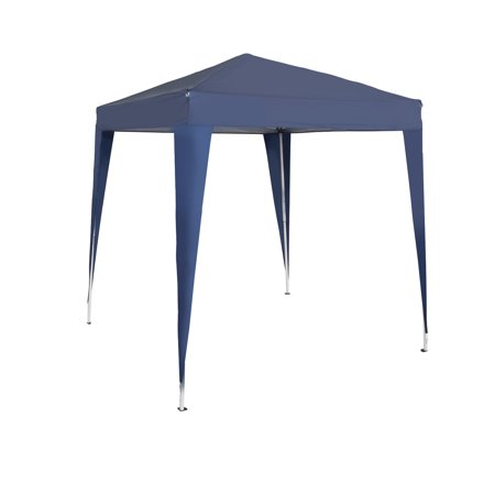 Garden Patio Canopies (Kinbor 6.5'x 6.5' Foldable Portable Pop Up Heavy Duty Garden Gazebo Patio Canopy with Carry)