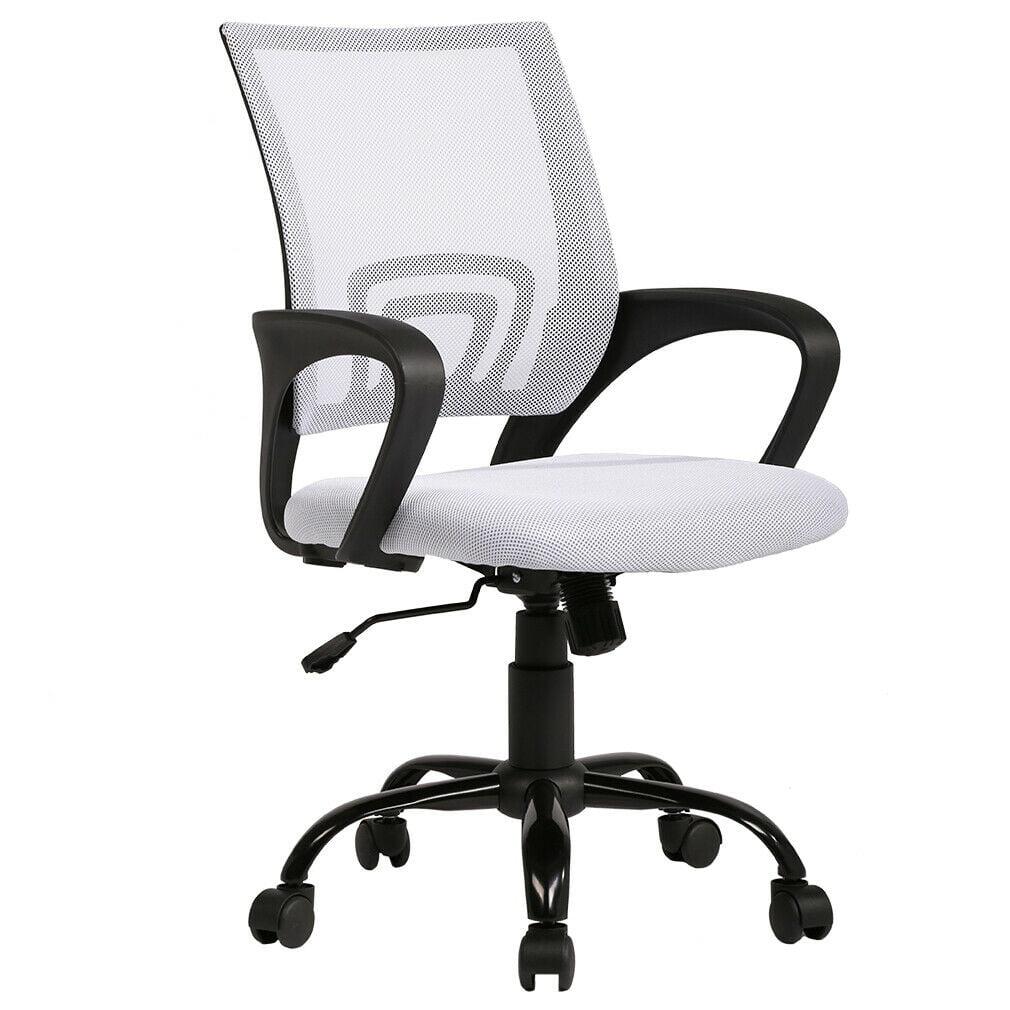 Ergonomic Office Chair Cheap Desk Chair Mesh Executive Computer Chair Lumbar Support for Women ...