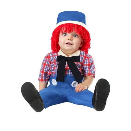 Infant Boys Rag Doll Costume - Dark Rag Doll Costume