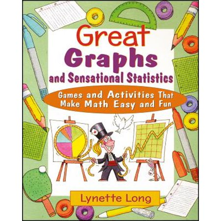 Great Graphs and Sensational Statistics : Games and Activities That Make Math Easy and Fun](Graphing Activities)