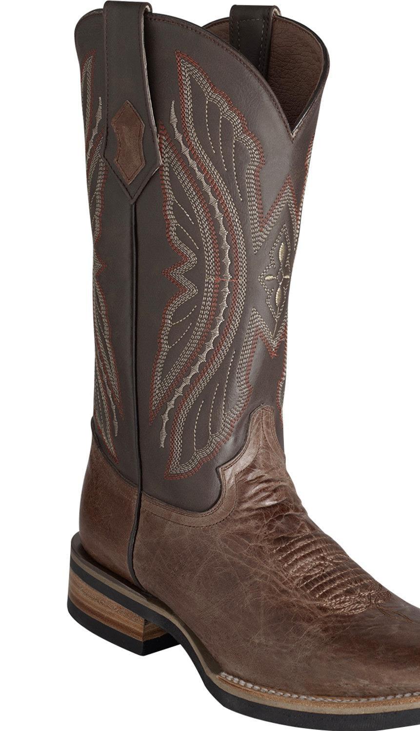 Ferrini Men's Kangaroo Western Boot Square Toe 1085309 by Ferrini