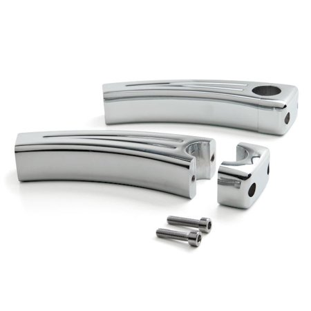 "5.5"" Chrome Motorcycle Handlebar Pullback Riser For Yamaha Road Star Warrior Midnight XV - image 4 de 4"