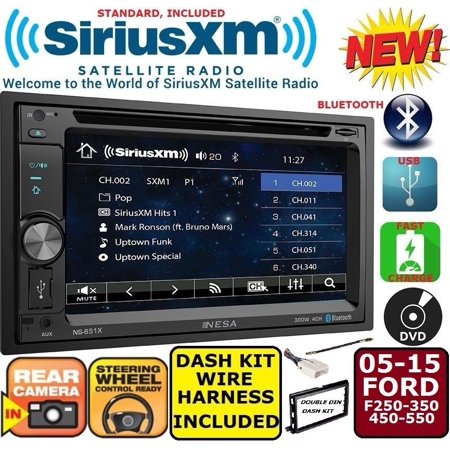 Ford Car Stereo (2005-2015 FORD F250/350/450/550 TOUCHSCREEN CD DVD USB AUX BLUETOOTH CAR Stereo )