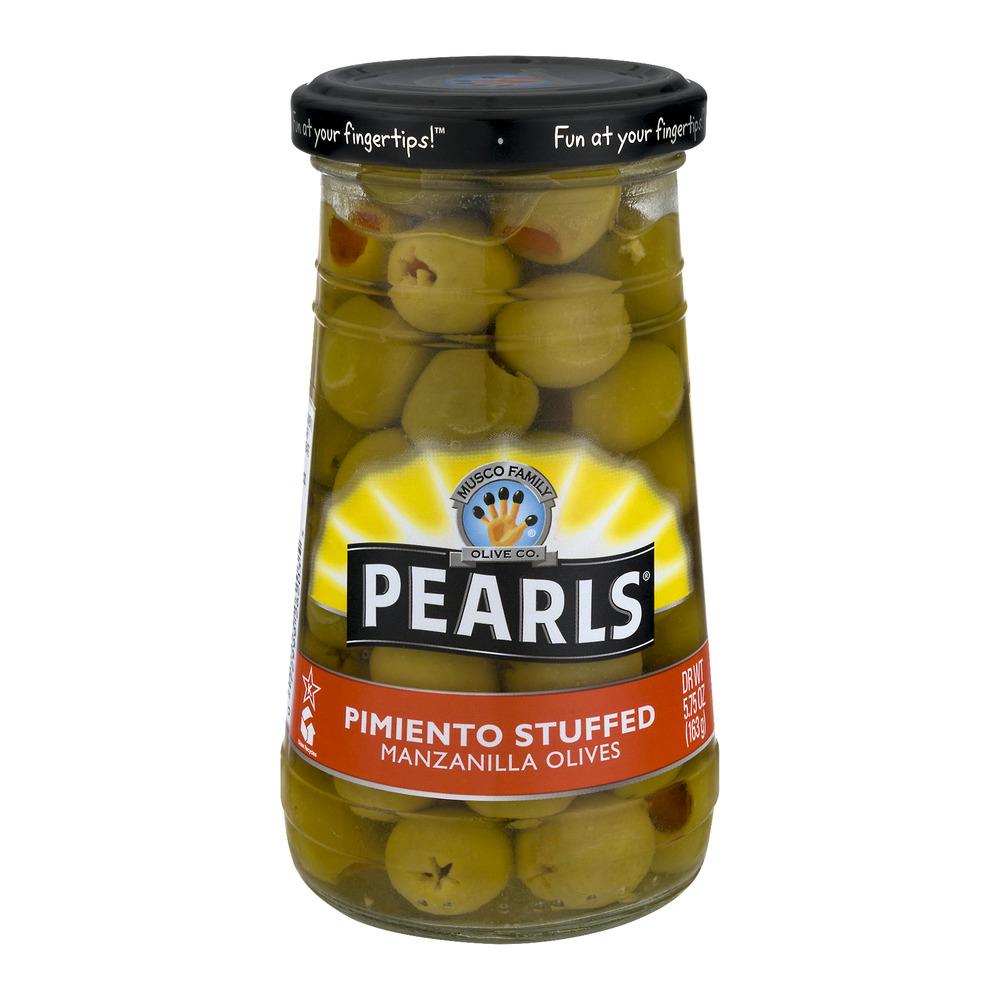 Pearls Manzanilla Olives Pimiento Stuffed, 5.75 OZ
