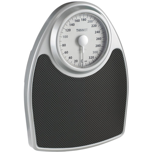 Conair TH100S Extra Large Dial Analog Precision Bath Scale