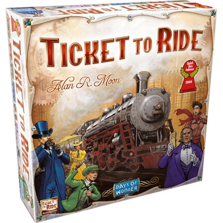 Ticket to Ride, Strategy Board Game (Halloween Board Games For Classroom)