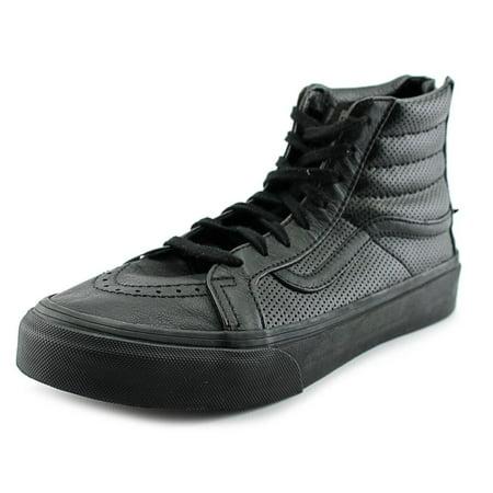Vans - Vans Sk8-Hi Slim Zip Women Round Toe Leather Black Sneakers -  Walmart.com cb6bcad8a