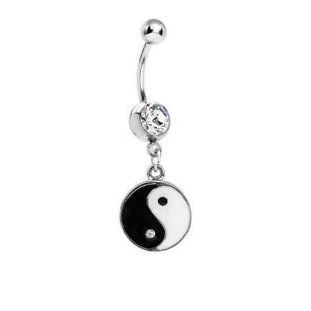 BodyJ4You® Body Piercing Kit Yin Yang Belly Rings Tongue Tragus Eyebrow Nipple Lip Nose 36 Pieces