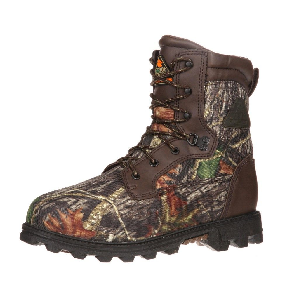 Rocky Outdoor Boots Boys Bearclaw WP Insulated Mossy Oak FQ0003627 by Rocky