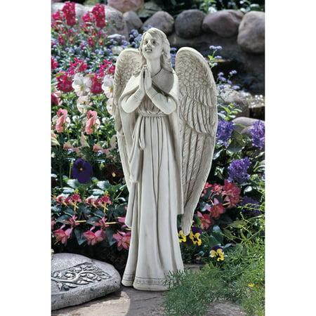 Large Garden Designs (Design Toscano Divine Guidance: Praying Angel Garden Statue: Large )