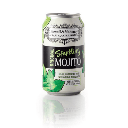 Non Alcoholic Cocktails For Halloween (Powell & Mahoney 5328 Sparkling Mojito Non-Alcoholic 6-4-12 Fluid)
