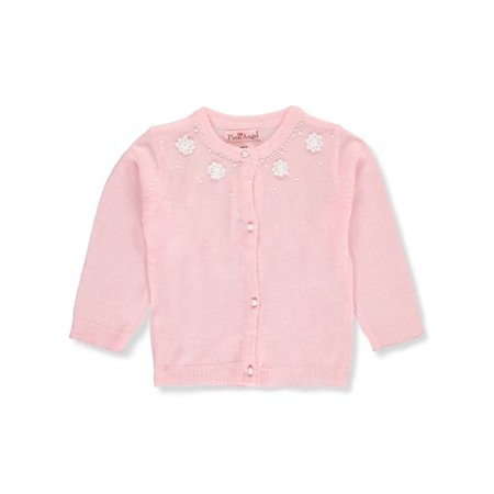 Angela Sweater (Pink Angel Baby Girls' Knit Cardigan )
