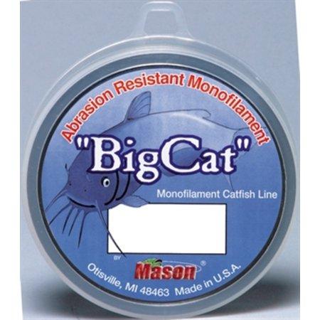 BCL250-40 Mason Tackle Big Premium Monofilament Clear 40lb Test Line Fishing