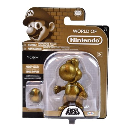 World of Nintendo Trophy Series Yoshi Action Figure