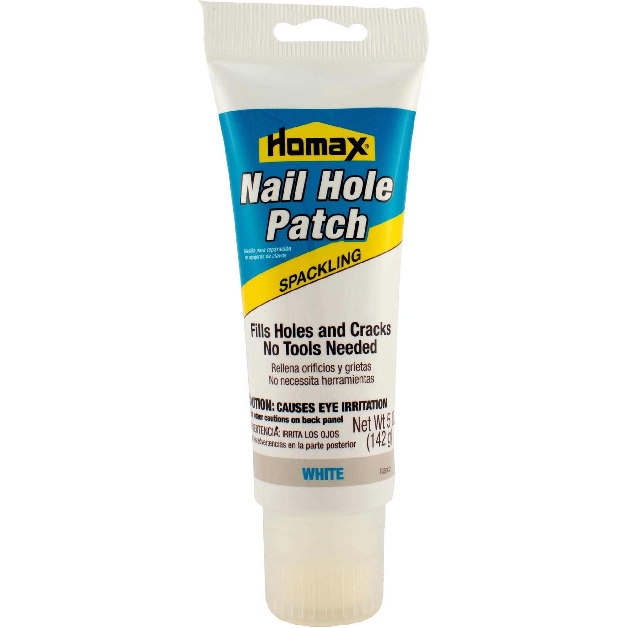 patching plaster walls nail holes