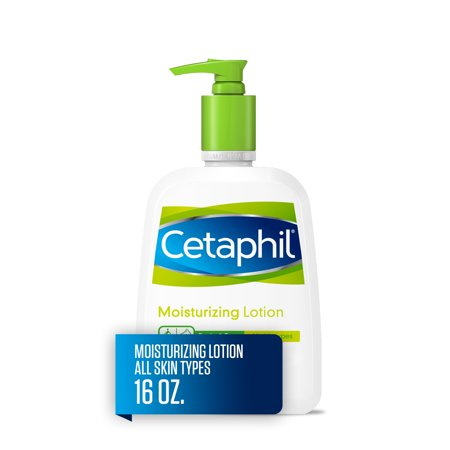 Cetaphil Moisturizing Lotion for All Skin Types, Fragrance-Free, 16 fl