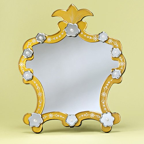 Gabriella Venetian Tabletop Mirror - 11.2W x 11.6H in.