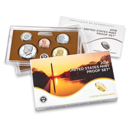 2018 Proof Set US Mint 10 Coin Original Government Packaging