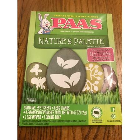 Paas Egg Decorating Kit Nature's Palette Egg Coloring Kit New