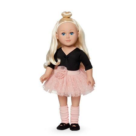 My Life As 18 Inch Ballerina Doll Blonde Walmart Com