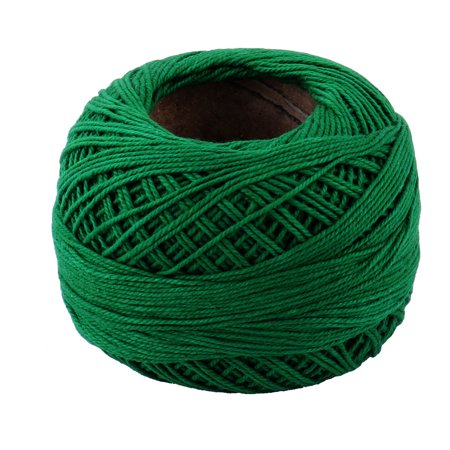 Crochet Spring (Home DIY Glove Weaving Sewing Crochet Knitting Yarn String Cord Dark Green 60g)