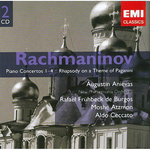 RACHMANINOV: PIANO CONCERTOS NOS. 1-4; RHAPSODY ON A THEME OF PAGANINI [2 DISCS] [724347694820]
