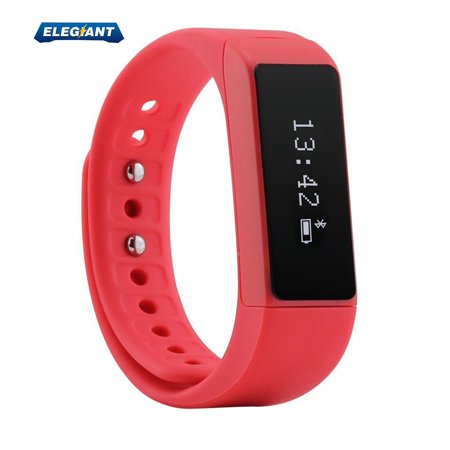 Waterproof h 4.0 Fitness Tracker Bracelet Smart Wrist Watch Sports Bracelet for iphone Android,OLED Screen 2019 Sports Bracelet,  NEW I5 Plus h 4.0 Sport Smart Watch Bracelet Wireless Activity Pedometer Sleep Monitor Health Fitness Tracker Activity Wristband (Can Vertical Screen) + Sports Bracelet Band for Android,IOS - Men Women Boys Girls Ladies ManSpecification:General:h version: h 4.0People: Unisex tableWaterproof: YES (Living Waterproof)Waterproof Rating: IP67Colors: Black, Red, BlueScreen: YESScreen Type: OLEDBattery Type: Lithium-polymer BatteryBattery Capacity: 75mAhLanguage: German, Italian, English, Simplified/TraditionalChinese, Russian, SpanishFunctions: Steps Counting, Find Your Phone, Camera Remote Control, Sedentary Reminder, SMS Reminding, Call Reminder, Incoming Calls Show, Calories Burned Measuring, Sleep Managementlooking for the phone, by clicking on the appropriate icon bracelet, you can let the phone sound an alarm, find the phoneComfortable Wear: The device is very comfortable to wear as it is made almost entirely out of silicone and is very smooth. Attach it to your wrist is very easy as everything just sort of snaps into place thanks to the stretchy silicone materialUSB Connect: The whole front piece pulls away from the band and doubles as a USB stick. You connect this directly to your computer or a USB device to charge the built-in battery.Fit For:iphone 4S or above (iphone 4S, iphone 5, iphone 5S, iphone 5C, iTouch5, ipad3, ipad4, ipad air, ipad mini etc IOS 7.0 or above system)Android 4.3 or above, h 4.0Not Fit For:Lenovo, TCL, Asus phoneDial and Band:Shape of The Dial: RectangleCase Material: PCBand Material: TPUSize:The Dial Thickness: 0.9 cm / 0.35 inchesThe Dial Diameter: 1.9 cm / 0.75 inchesThe Band Width: 1.9 cm / 0.75 inchesPackage Contents:1 x I5 Plus Sports Bracelet1 x I5 Plus Sports Bracelet Band