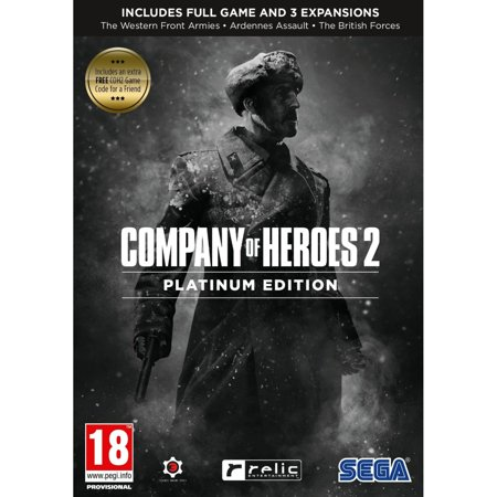 Company of Heroes 2 Platinum Edition (RTS PC Game) Full Game and 3 (Best Company Of Heroes Game)