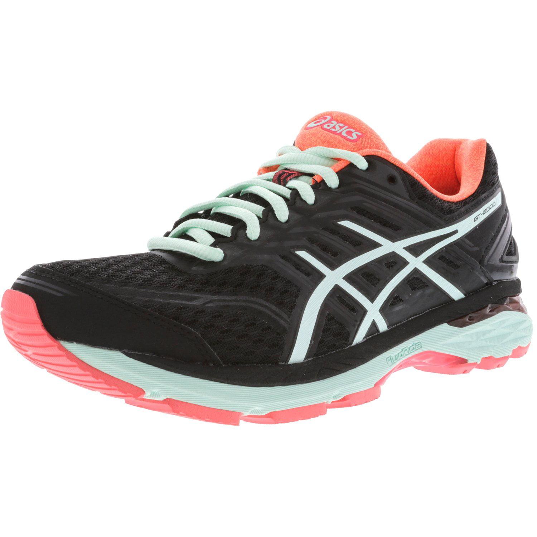 Asics Women's Gt-2000 5 Black / Bay Diva Pink Ankle-High Running Shoe - 8M