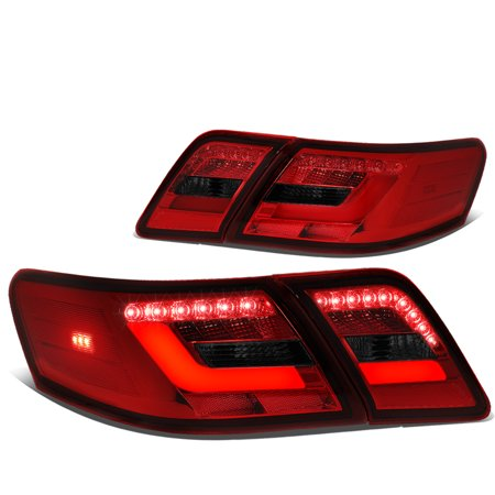 For 2010 to 2011 Camry Pair 3D LED Bar Styling Tail Light Rear Brake / Parking Lamps ()