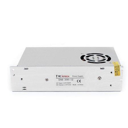 DMiotech DC12V 25A 300W 9 Terminals Power Supply Switch Converter for LED Light - image 3 de 4