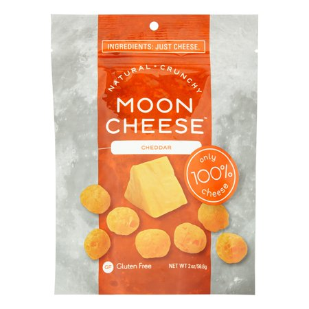 Moon Cheese Snacks, Cheddar, 2 Oz - Mini Halloween Cheese Balls