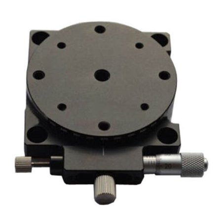R Axis Manual Rotating Platform Precision Bearing Linear Stage Load 29.4N 60mm