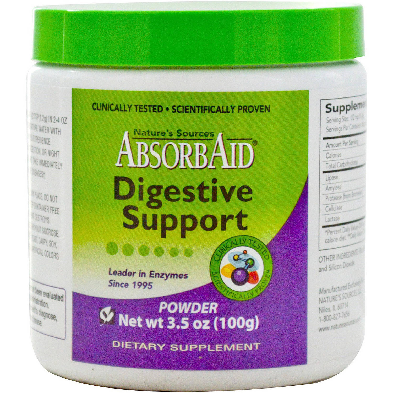 Absorbaid Digestive Support Powder, 100 GM