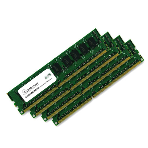 32GB Kit (4x8GB) RAM Memory DDR3 1333MHz interchangeable with Kingston KVR1333D3N9HK4/32G