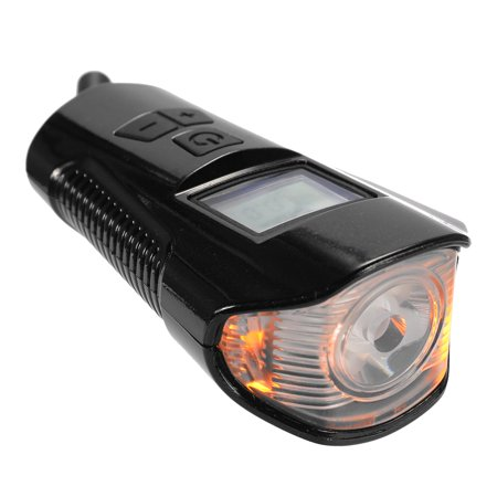 Bicycles Light With Horn Cycling USB Charging LED Glare T6 Flashlight Riding Code Table Speedometer Waterproof Bike Flashligh - image 4 of 7