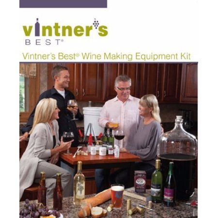 Vintner's Best Deluxe Wine Equipment Kit - 6 Gallon Glass (Best Sweet White Wine)