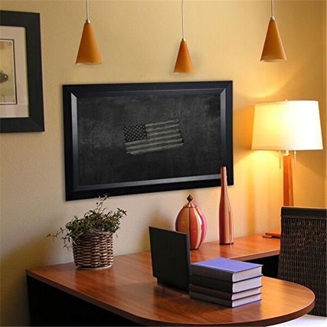 Rayne Mirrors B0948.5-84.5 American Made Solid Black Angle Blackboard & Chalkboard, 54 x 90 in.