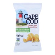 Cape Cod 2452456 5 oz Potato Chips, Case of 8